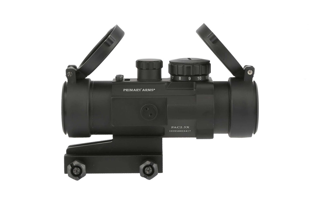 Primary Arms 2.5X Compact AR15 Scope with Patented CQB ACSS Reticle