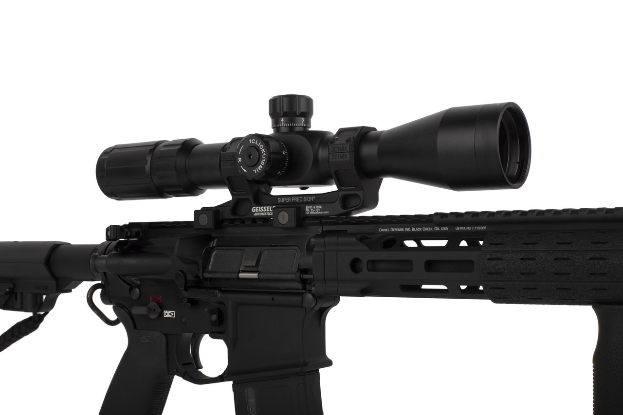 Primary Arms Silver Series 4-14x44mm FFP Rifle Scope - Illuminated R-Grid 2B