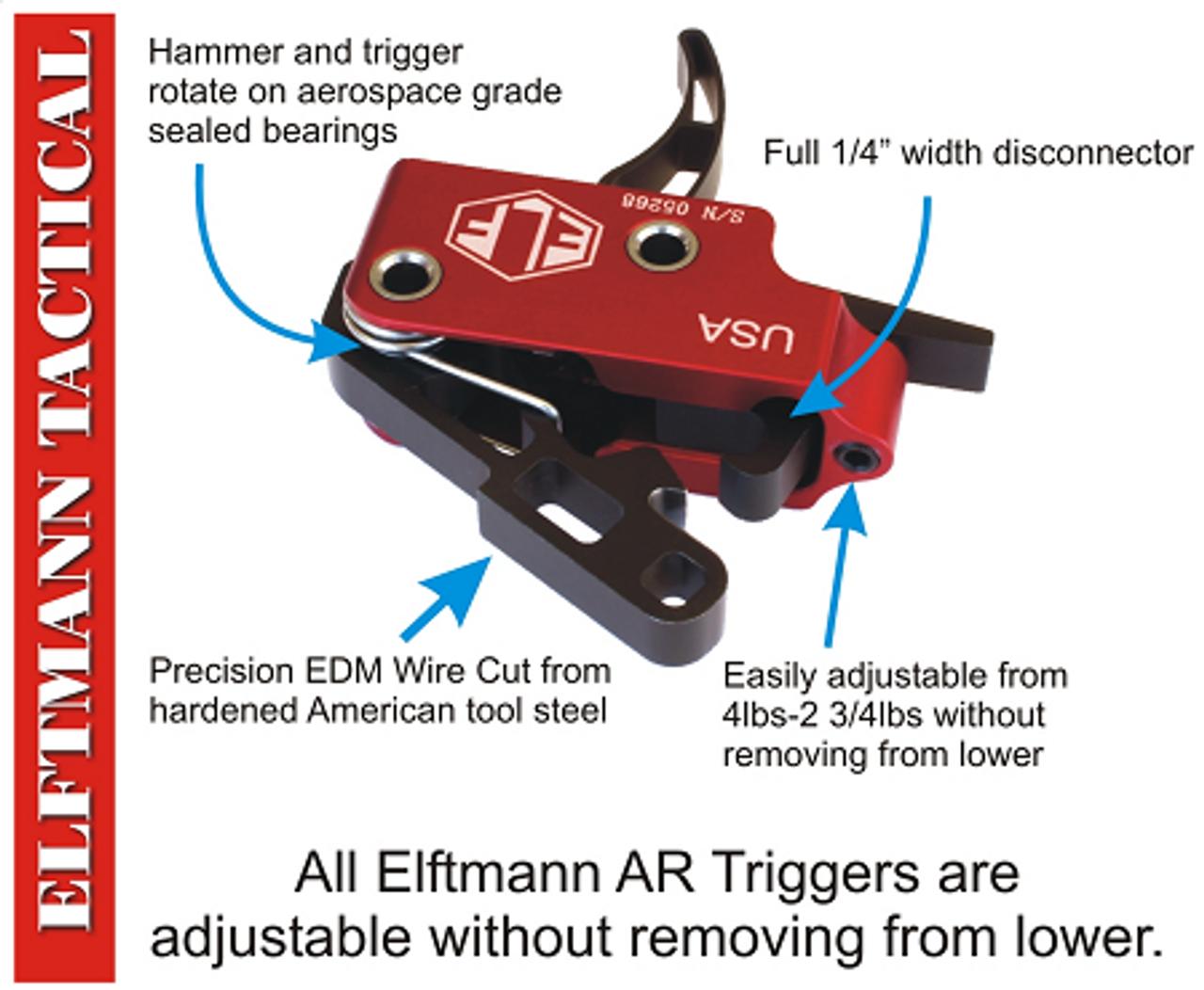 Elftmann Match AR15 Trigger