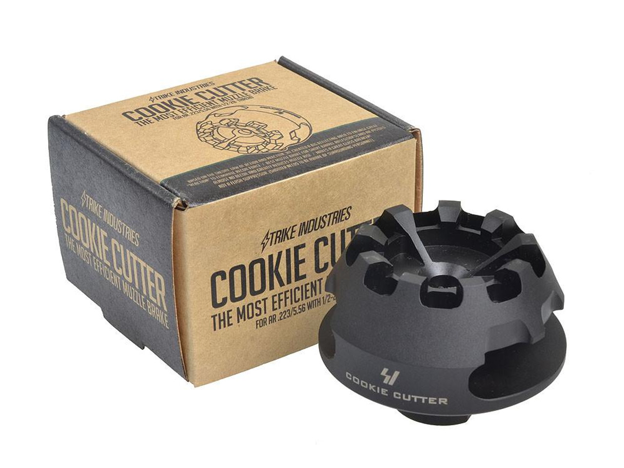 Strike Industries Cookie Cutter Comp .300-.308-7.62 (includes crush washer)