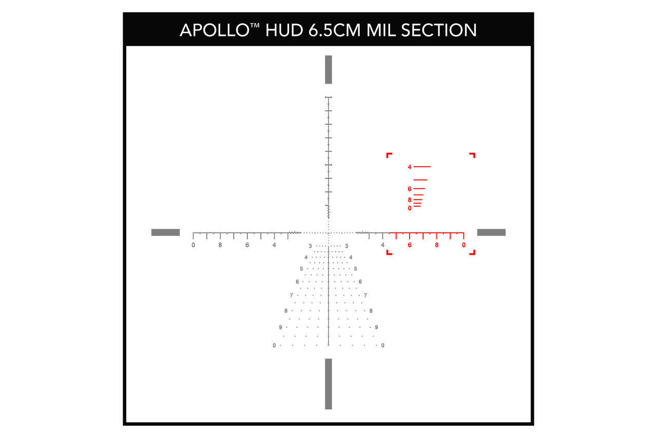 Primary Arms 3-18X50mm FFP Rifle Scope - Illuminated ACSS APOLLO 6.5CM Reticle