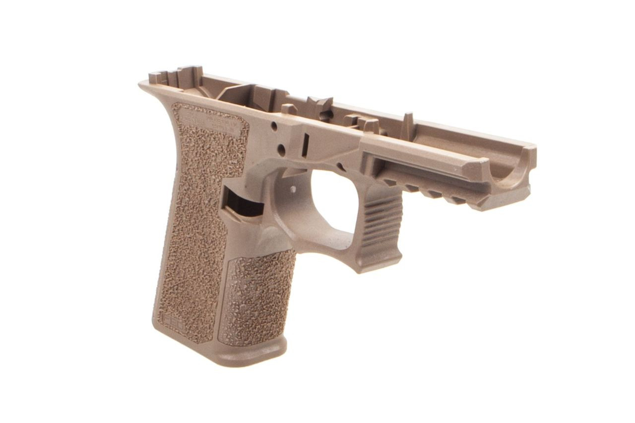 Polymer80 PFC9 Serialized G19/G23 Compact Frame Textured - Flat Dark Earth