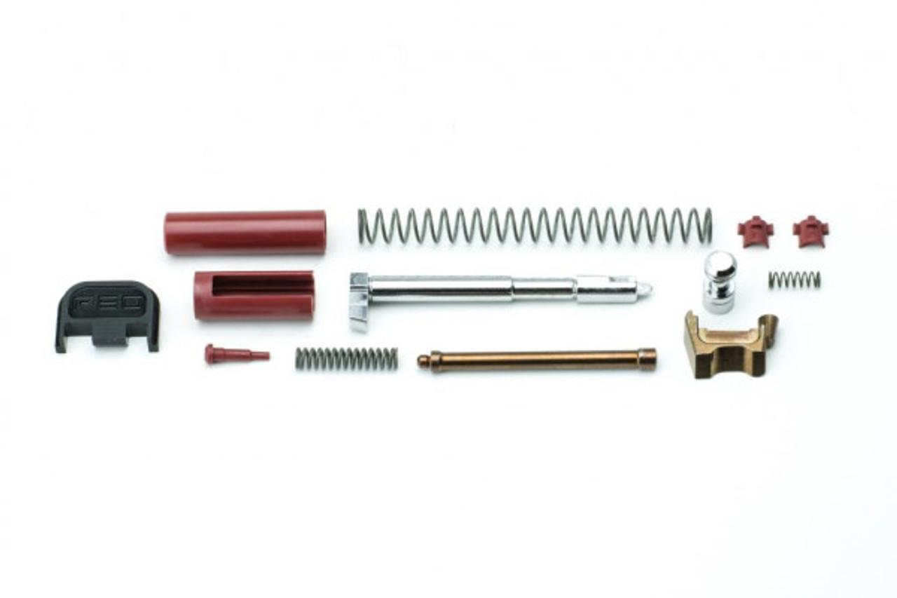 Polymer80 PF-Series GL Slide Parts Kit - Bronze/Red