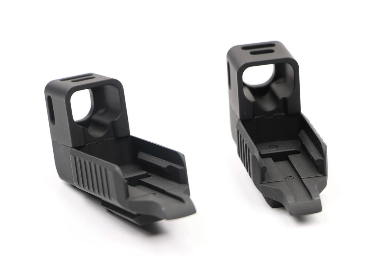 Dark Hour Defense Compensated Glock Stand Off Device w/Rail - Glock 19
