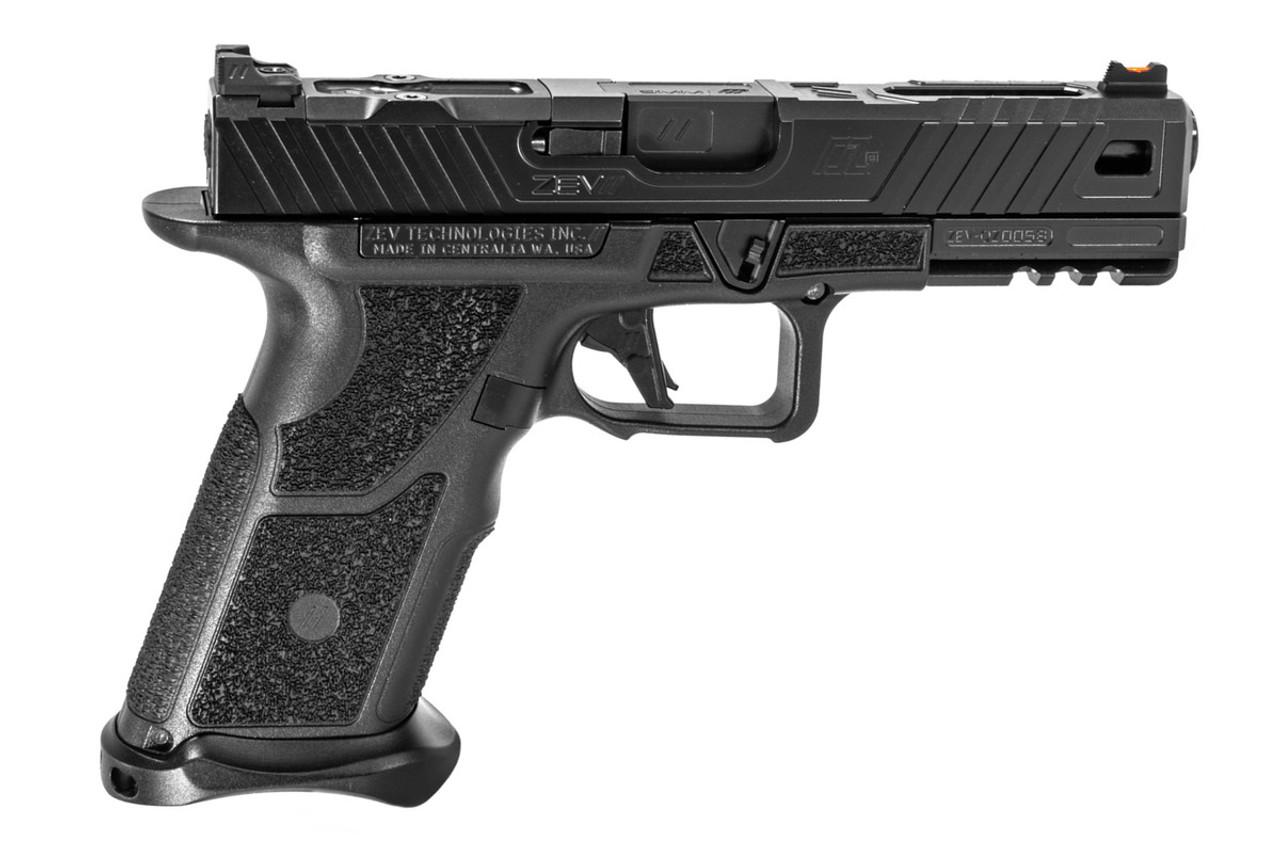 ZEV OZ9 9mm Pistol (Black Slide and Black Barrel)
