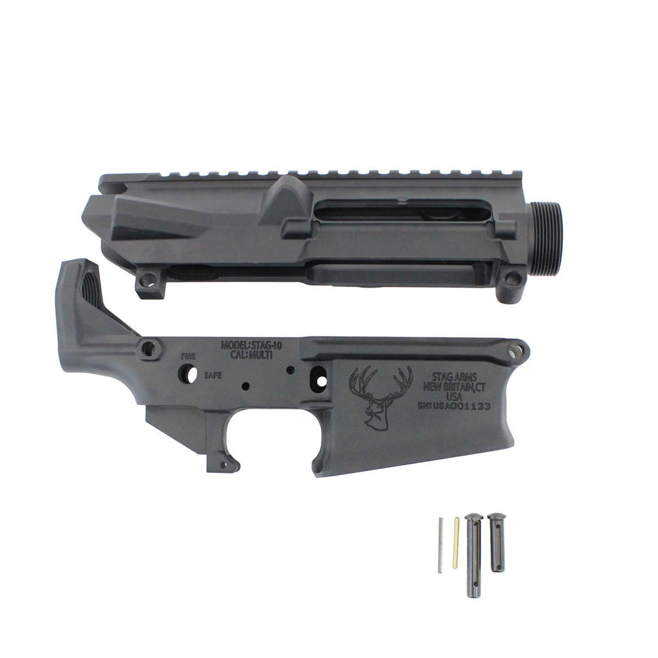 "Stag 10 Stripped Upper / Lower (NR) w/ Diamondhead 13.5"" Blemished Handguard"