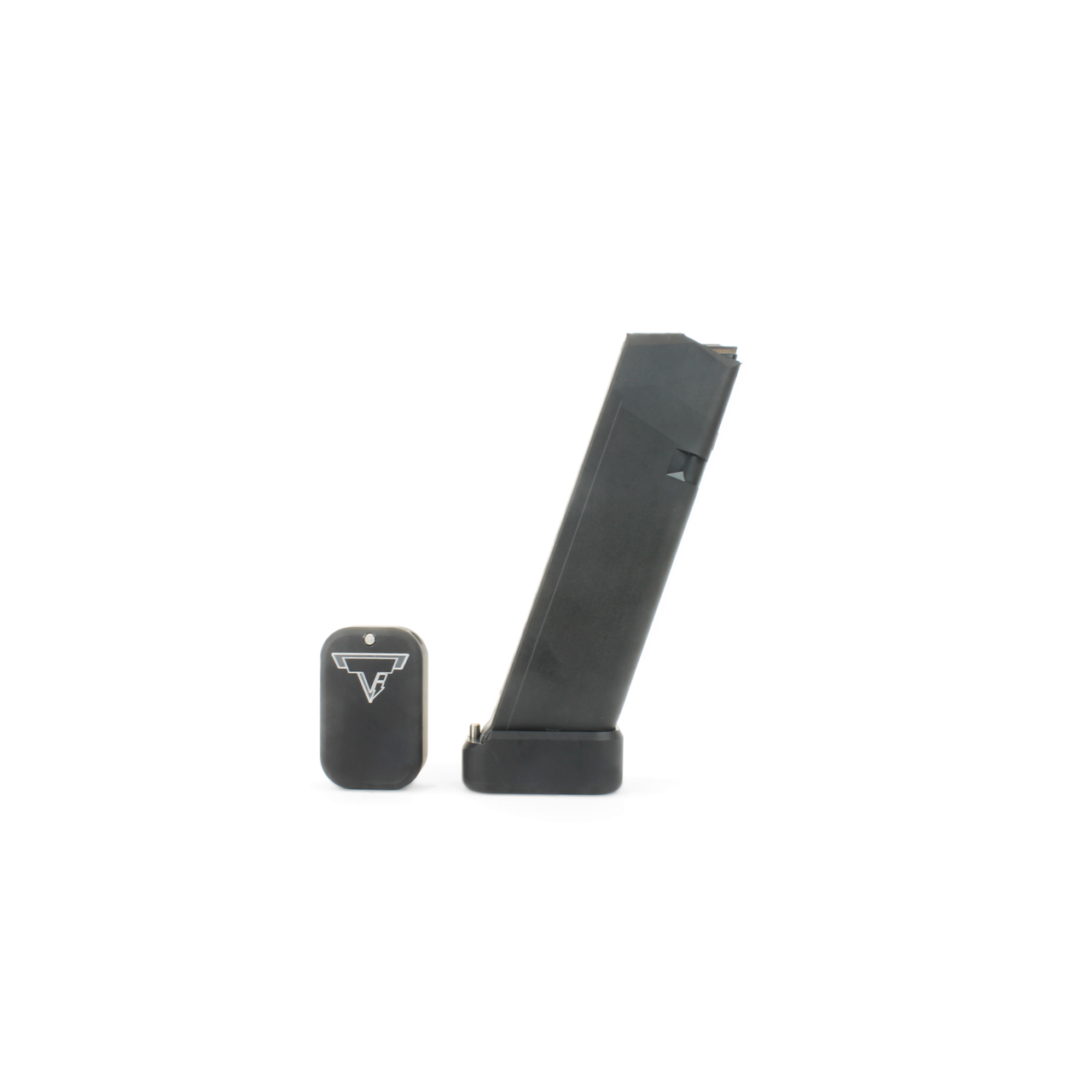 Taran Tactical +0 Base Pad Kit for Standard Sized Glocks 9/40 - Flat Black