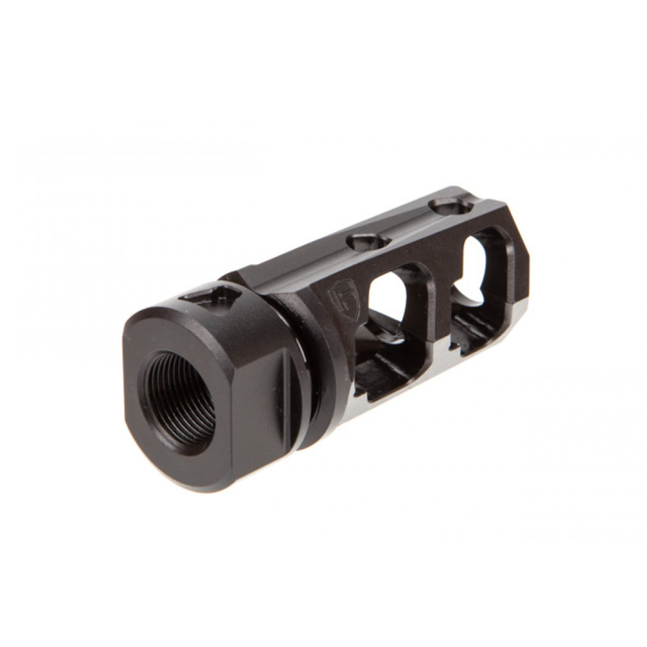 Fortis Muzzle Brake PCC 9MM Nitride - 1/2 x 28 TPI