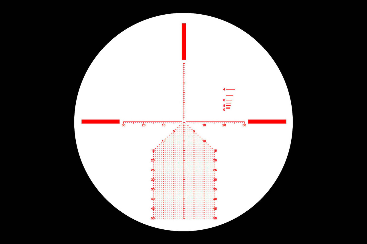 Primary Arms Silver Series 3-18x50mm FFP Rifle Scope - Illuminated Hera BPR MOA Reticle