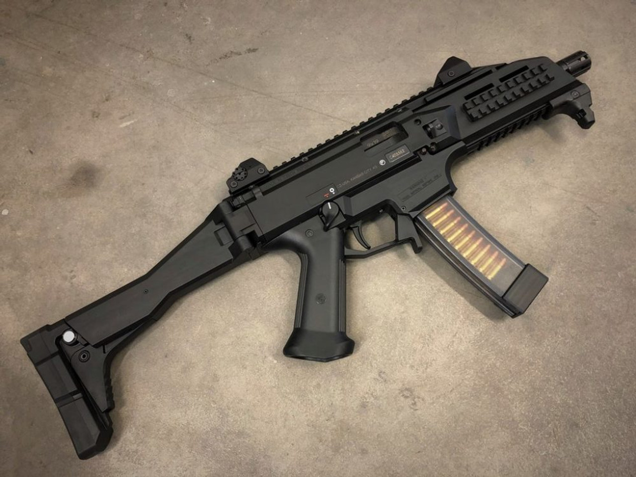 HB Industries CZ Scorpion ProStock Mag Release Lever