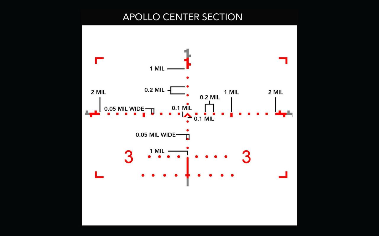 Primary Arms PLx 6-30x56mm FFP Rifle Scope - Illuminated ACSS-Apollo-6.5CR/.224V