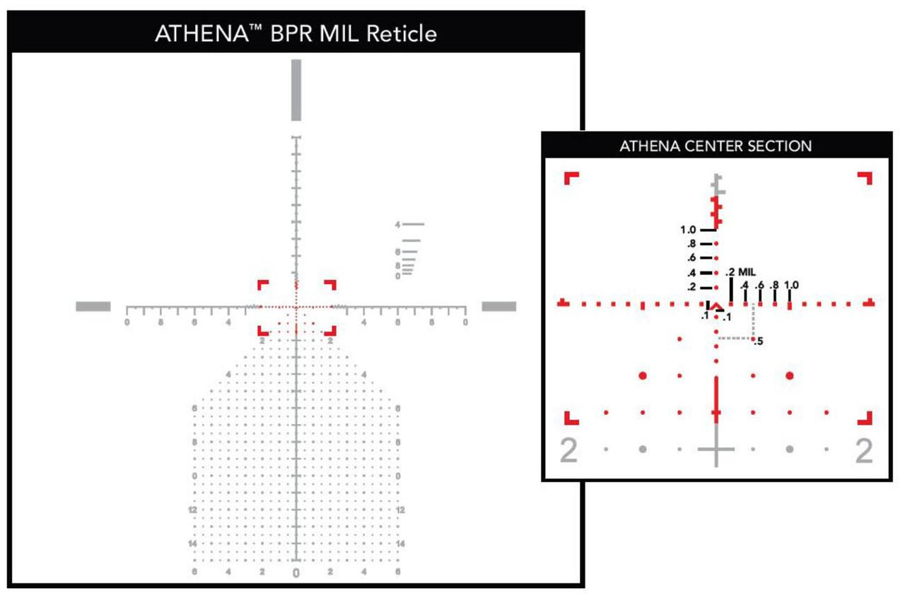 Primary Arms PLx 6-30x56mm FFP Rifle Scope - Illuminated Athena BPR MIL