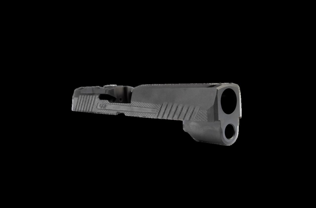 Grey Ghost Precision Sig P320 Full Size Slide V1 - Black DLC