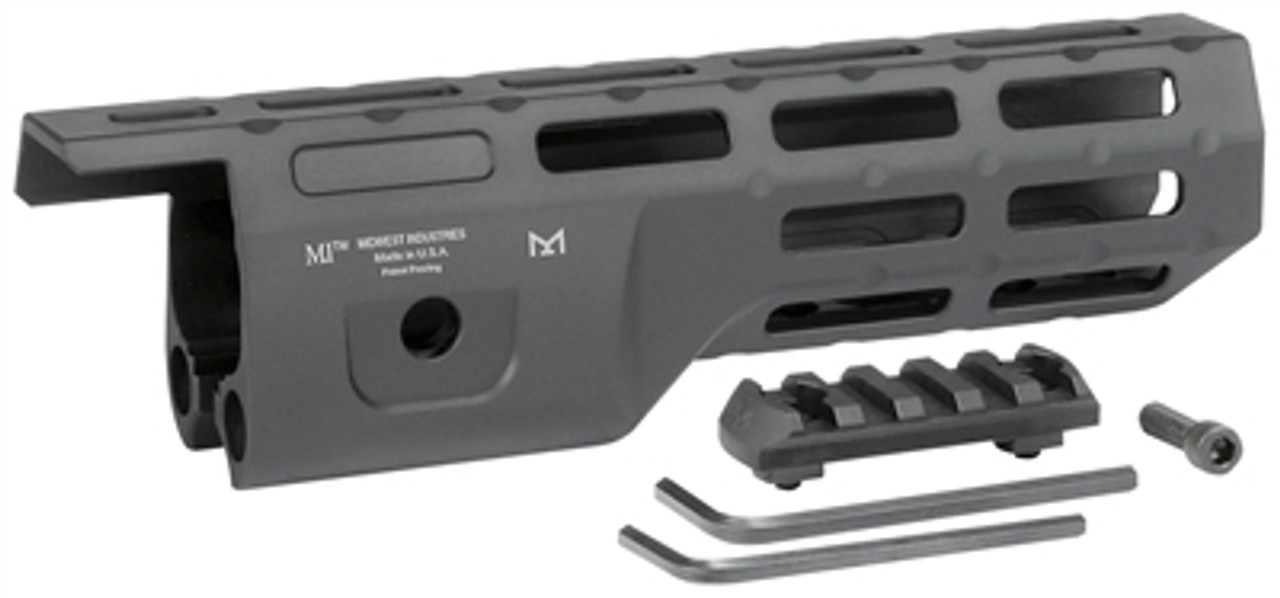 """Midwest Industries 8.0"""" M-Lok Hand Guard Compatible with Ruger 10/22 TakeDown"""