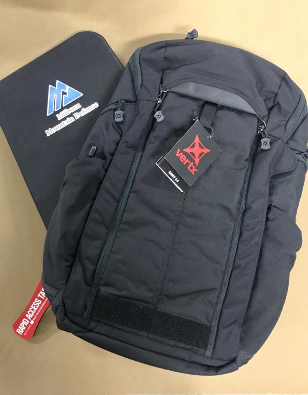 Milburn Mountain Defense IIIA Soft Armour Insert for Vertx Gamut 2.0 Backpack