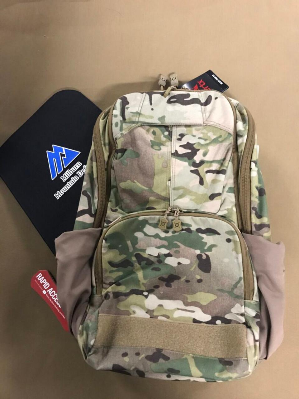 Milburn Mountain Defense IIIA Soft Armour Insert for Vertx Ready Pack 2.0