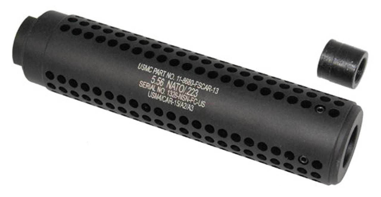 Guntech AR15 Reverse Thread Slip Over SOCOM Style Fake Suppressor