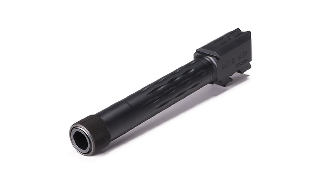 Faxon M&P Full Size Flame Fluted Barrel, Threaded