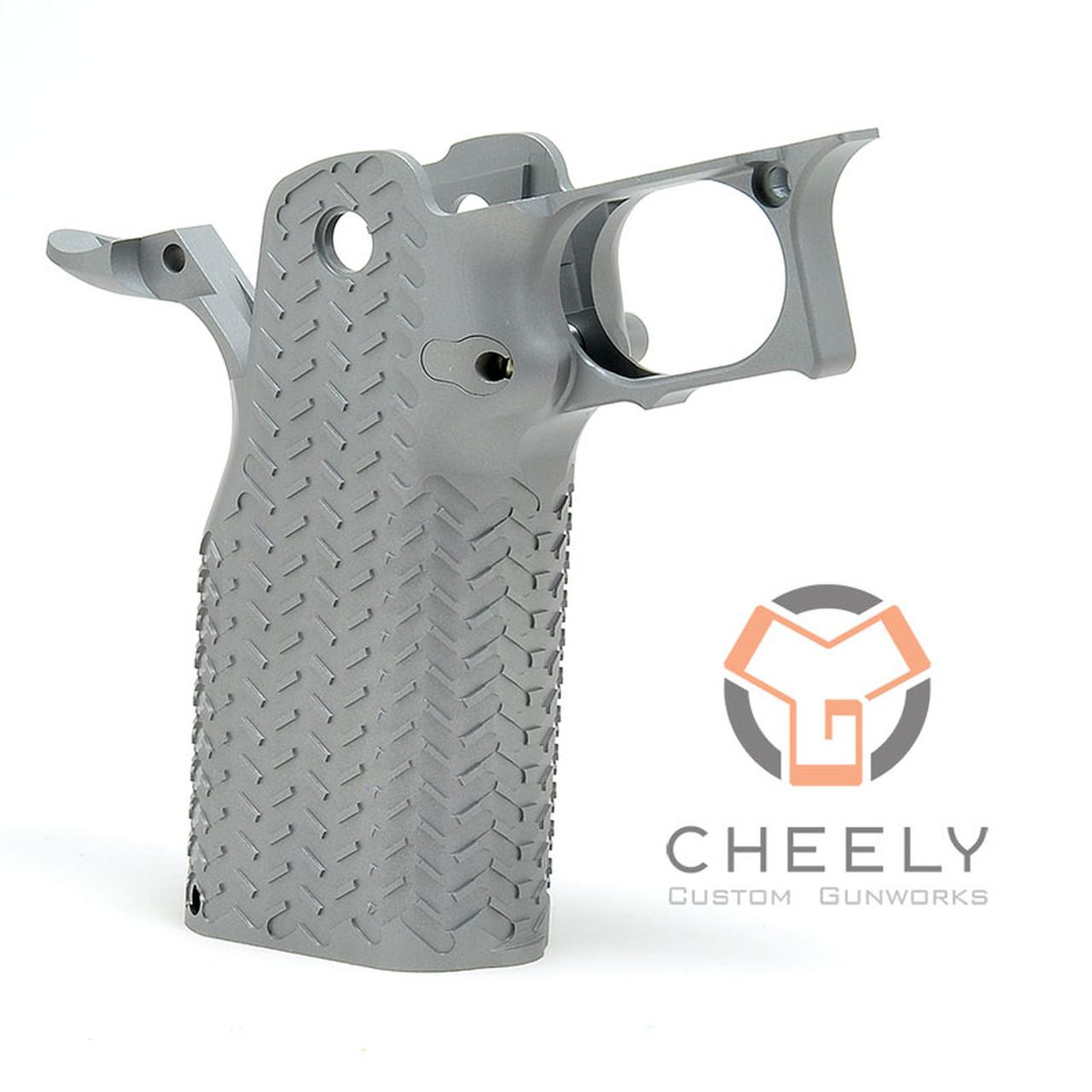 Cheely Custom Gunworks E2 Grip Kit - Stainless