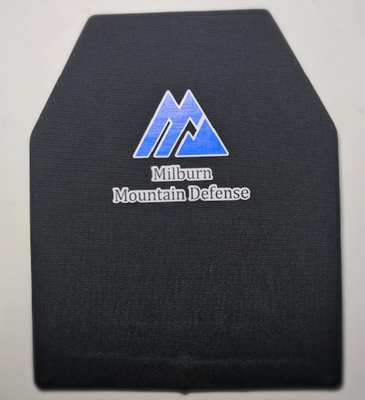 Milburn Mountain Defense Level IIIA Shoters Cut 10x12 Soft Armour (2-Panels)
