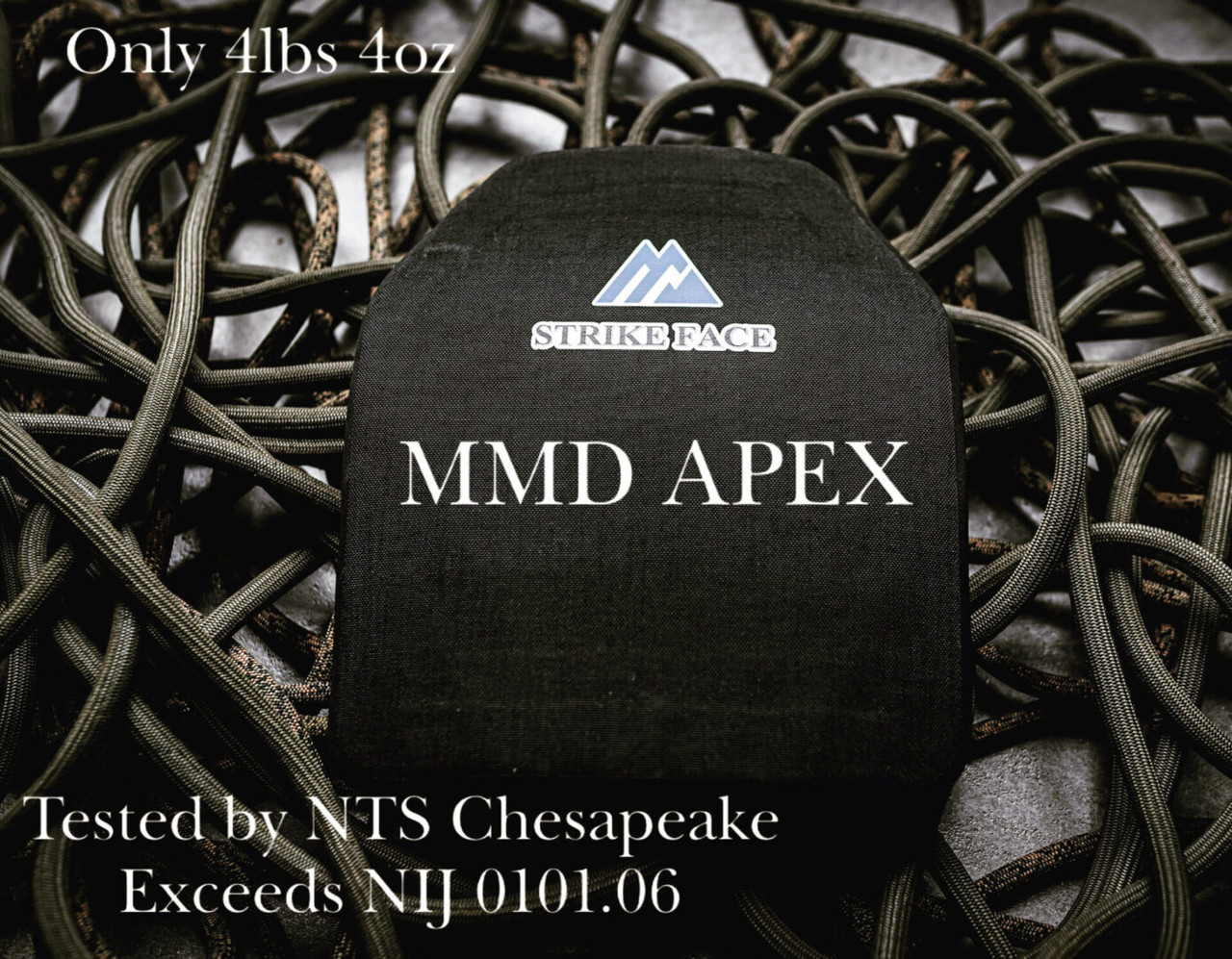 Milburn Mountain Defense Level III+ Apex Multi Curve Multi Hit 10x12 Body Armour (2-Plates)