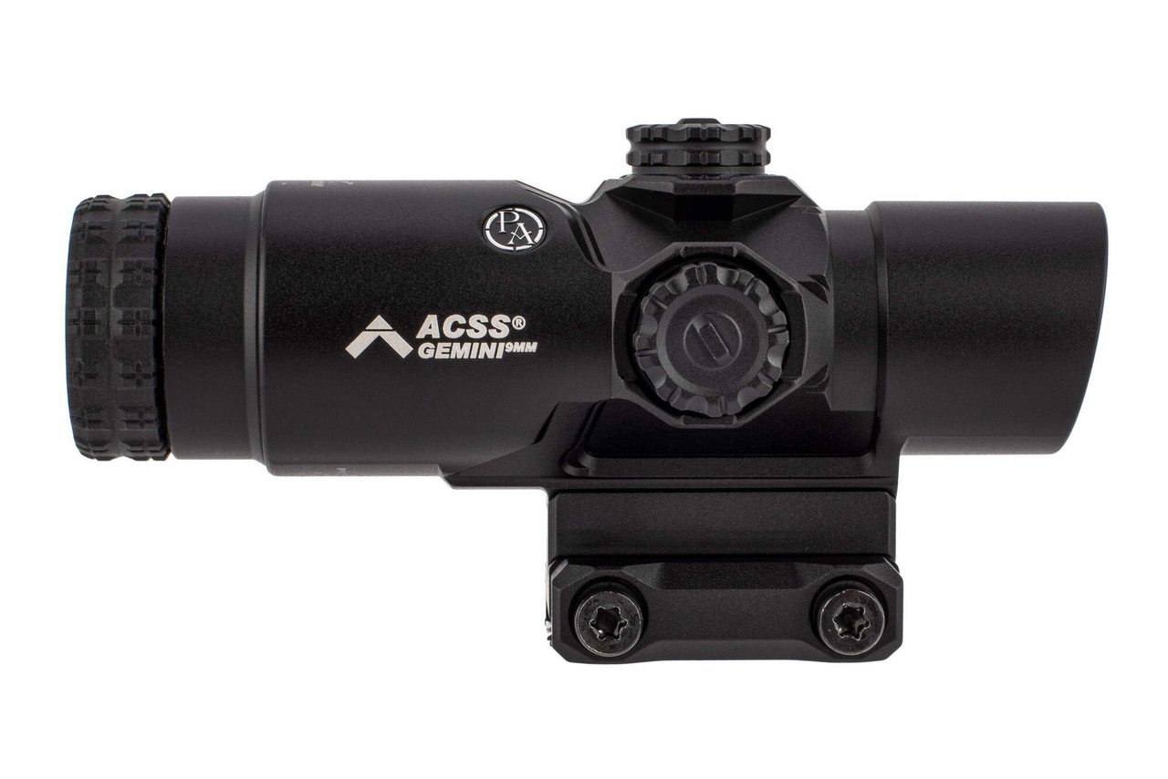 Primary Arms GLx 2X Prism with ACSS Gemini 9mm Reticle Daylight Bright