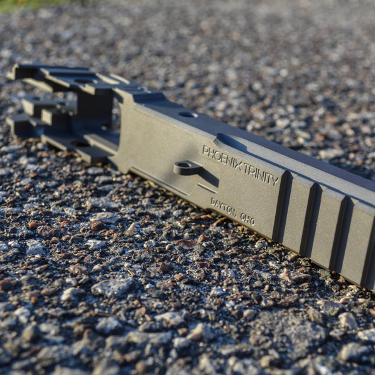 Phoenix Trinity Hi-Cap Tac-Rail 2011 Serialized Frame (Restricted Firearm)
