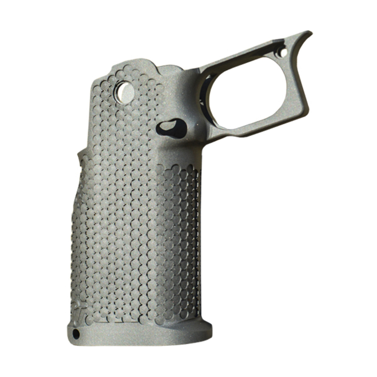 Phoenix Trinity 2011 EVO Grip w/ Mag Release Double Undercut Trigger Guard (Aggressive Texture) 17-4 Stainless