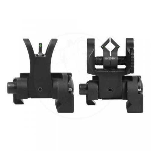 Troy BattleSight Set Micro Tritium - M4 Front & Dioptic Rear