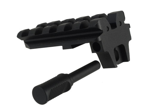 Strike Industries Charging Handle For Glock Rear Sight Rail Adapter