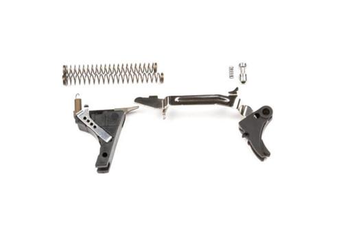 ZEV Tech Adjustable Fulcrum Trigger Drop-In Kit, 1st-3rd Gen, 9mm (Black/Black)