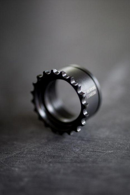 V Seven Titanium GI Barrel Nut - Black Ion Bond