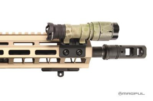 Magpul M-LOK Offset Light/Optic Mount - Aluminum