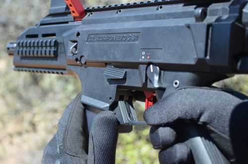 HB Industries CZ Scorpion EVO3 Paddle Mag Release Lever