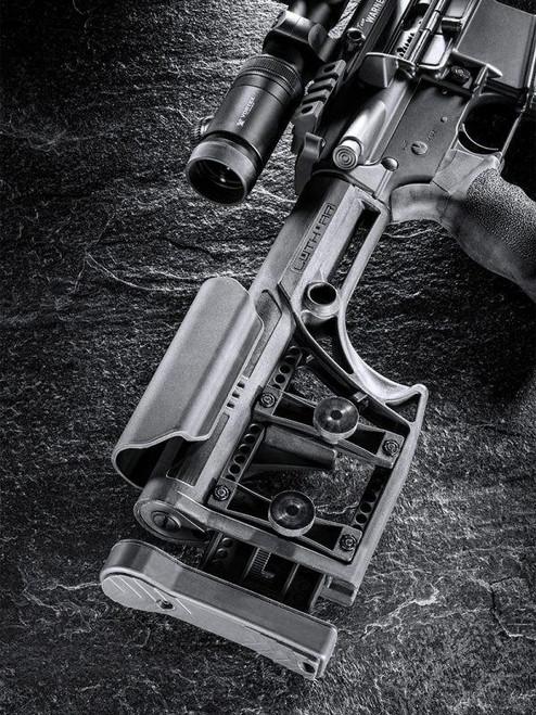 Luth-AR MBA-1 Rifle Stock - Black