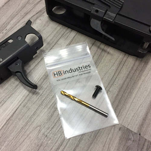 HB Industries CZ EVO3 Scorpion Welded Trigger Pack Drill