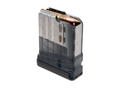 Lancer L7 Advanced Warfighter 10/5 Magazine - .308 Win / 7.62 NATO - Smoke