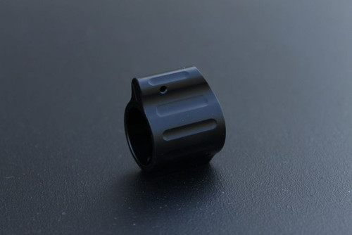 "V Seven Titanium Set Screw Gas Block (0.625"") - Black"