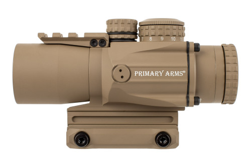 Primary Arms Silver Series Compact 3x32 Gen III Prism Scope - ACSS-5.56-CQB-M2 - FDE