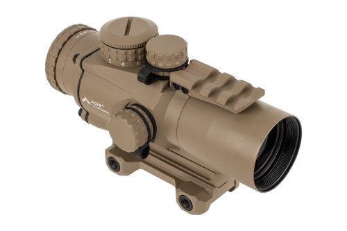 Primary Arms Silver Series Compact 3x32 Gen III Prism Scope - ACSS-CQB 300BLK/7.62x39 - FDE