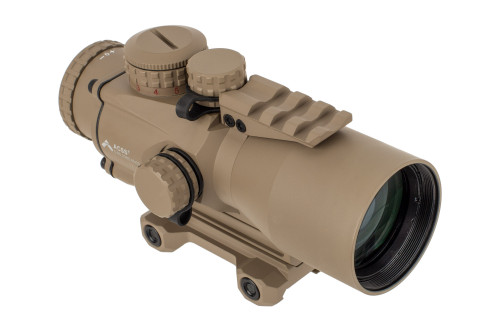 Primary Arms Silver Series Compact 5x36 Gen III Prism Scope - ACSS-5.56/5.45/.308 - FDE