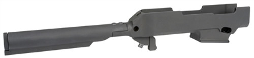 Midwest Industries Chassis Compatible with Ruger PC9 - 6-Position Mil-Spec Tube