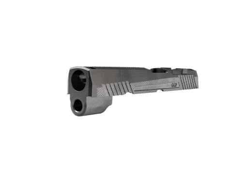 Grey Ghost Precision Sig P320 Compact Slide V1 - Black DLC