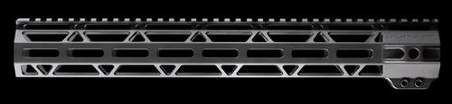 "JL Billet .308/AR10 15"" Straight Cut M-Lok Handguard High Profile"