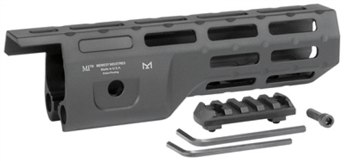 "Midwest Industries 8.0"" M-Lok Hand Guard Compatible with Ruger 10/22 TakeDown"