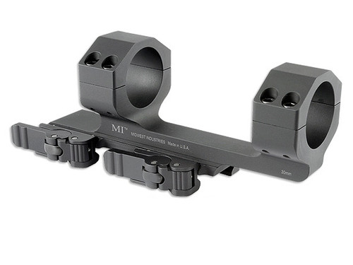 Midwest Industries 30MM QD Scope Mount with 1.4-in Offset