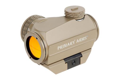 Primary Arms SLx Advanced Rotary Knob Microdot Red Dot Sight - FDE