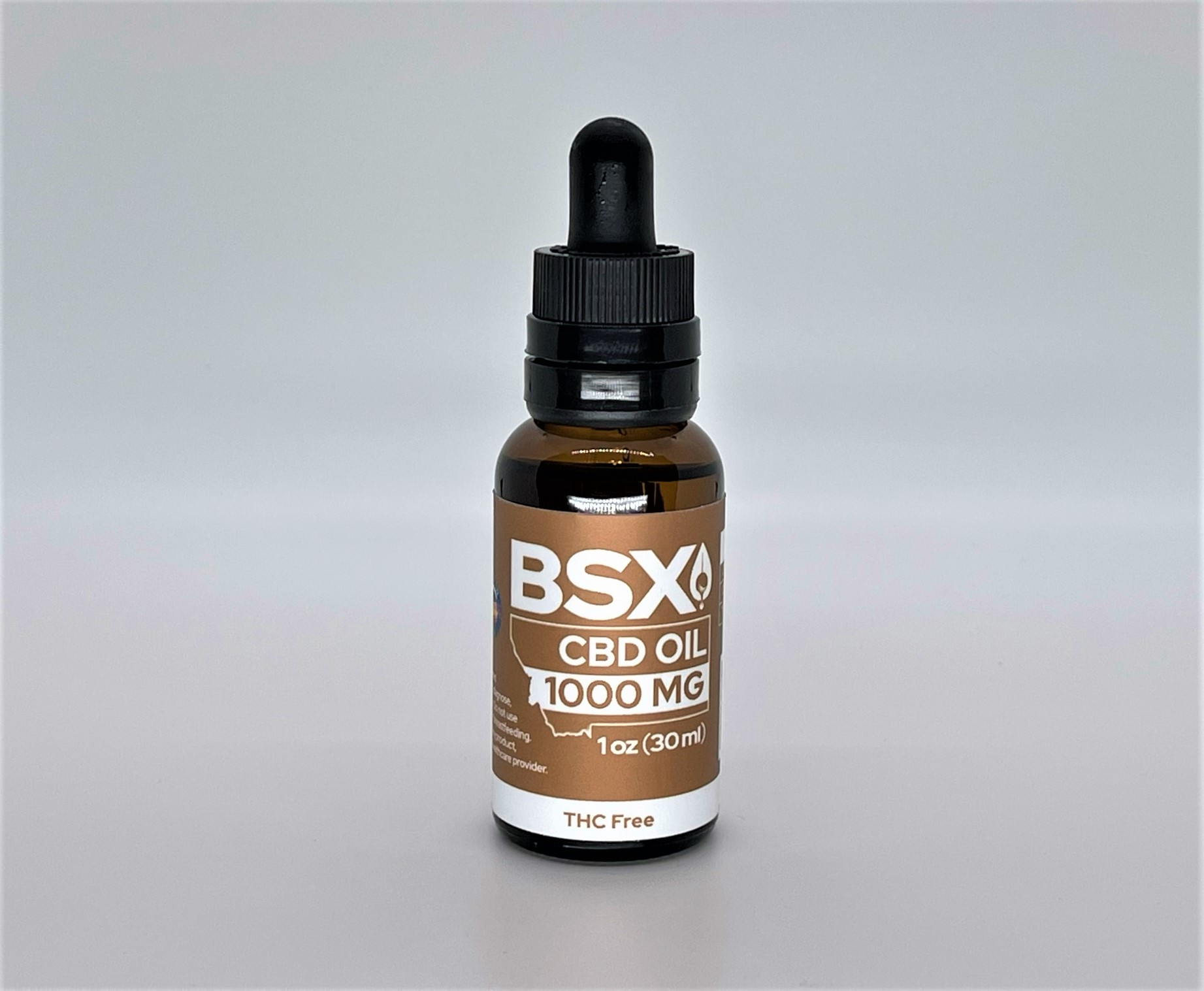 Big Sky Extracts THC free tinctures 1000mg