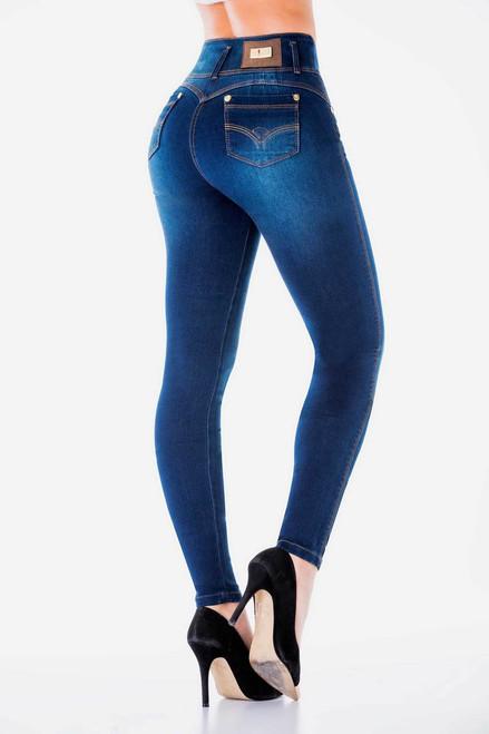 2c06a0a70 Favorite Denim Butt-Lifting Jeans by Bon Bon Up 3803