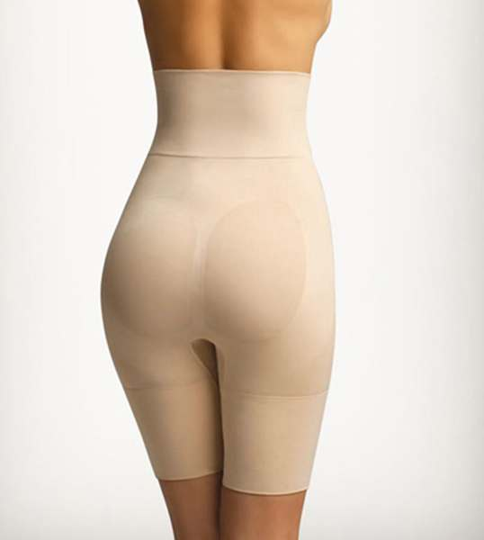 daea9095491 High Waisted Thigh Shaper by Slim Me MSM-108